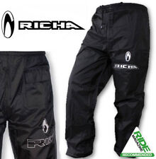Richa Pioggia Warrior Moto Scooter 100% Copripantaloni Impermeabili - Rivestito