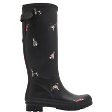 Womens Joules Printed Wellies Rubber Waterproof Snow Rain Knee High Boots UK 3-8
