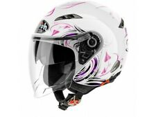 Helm Jet Airoh City One Heart Weiss Glanzed