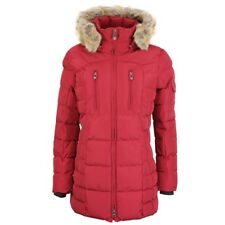 245395cd3ebb98 Wellensteyn Damen Winter Jacke Mantel Hollywood rot HOLL 560 dark red