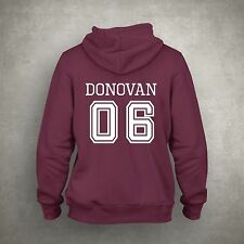 The Vampire Diaries inspired Maroon/White Hoodie Mystic Falls Donovan 06 Witches