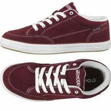 OFFER. DuFFS Mens Strombolie Suede Shoes Burgundy.Size UK10/Euro 44