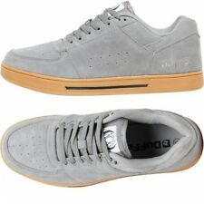 DROP PRICE DuFFS Mens KCK Suede Gum Soled Skate Shoes Grey.UK 8/Euro 42 USA 9