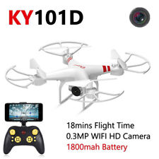2.4G 4CH 6-Axis Gyro Hover HD RC Quadcopter Drone 0.3MP WIFI Camera RC Drone FPV