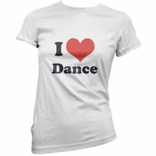 I Love Dance - Mujer / Camiseta Mujer - Bailarina - Baile - Ballet - 11 Colores