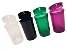 POP TOP SQUEEZE POTS CONTAINER SNAP TUBS STASH CAN JAR 6 13 19 DRAM STICKERS POT