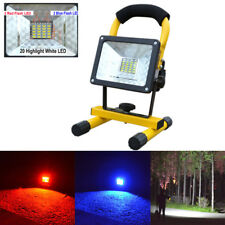 30W 24 LED Portable USB Rechargeable Flood Light Spot Work Camping Fishing Lamps