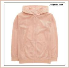 Girls Airtex Over Sized Bomber Jacket in Blush Pink Size 11-16 Years RRP £27