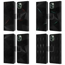 OFFICIAL ALYN SPILLER TECTONIC LEATHER BOOK WALLET CASE FOR APPLE iPHONE PHONES