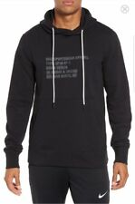 Nike Ropa Deportiva AF1 Hombre Sudadera con Capucha M NEGRO Jersey