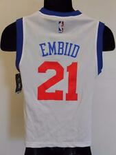 Nuevo No-Front #21 Joel Embiid 76ERS Sixers Youth Tallas S-M-L-XL Camiseta