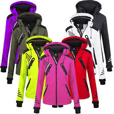 Rock Creek Donna Giacca Softshell Outdoor a Vento Transizione D-390