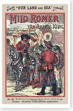 Milo Romer The Animal King Aldine O'er Land And Sea Library Cover Art Poster