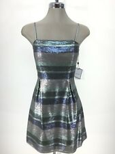 Laundry by Shelli Segal NWT Awesome Sequins Fit & Flare Dress 4 6 8 10 12 L@@K