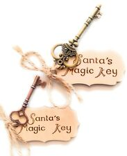 'Santa's Magic Key' Gift Tag Father  Christmas Eve Tree Ornament Xmas No Chimney