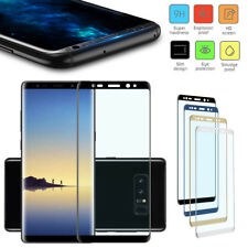 3D Full Cover Curved Temper Glass Film Screen Protector For Samsung note 9 8 LOT