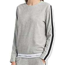 Calvin Klein Women Modern Cotton Sweatshirt, Grey