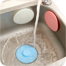 1x Silicone Drain Cover Kitchen Water Stopper Sink Bathtub Leakage-proof Tool