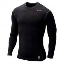7960095dd10 Men s Nike Pro Combat Core Compression Dri-Fit Long Sleeve Black Brand New