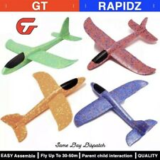DIY Kids toys hand throw flying plane glider foam airoplane Easy Install Durable