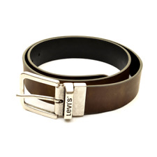 Levi's 214826 Reversible Belt - Black / Regular Brown