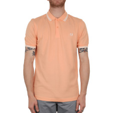 Fred Perry Twin Tipped Polo Shirt - Nectar