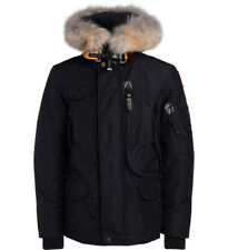 Giacca Parajumpers Right Hand in nylon blu con cappuccio