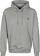 LYLE & SCOTT PULLOVER HOODIE MID GREY MARL, NEW! MOD-SKINHEAD-CASUAL-ULTRAS