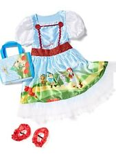 Girls Fancy Dress Costume Dorothy The Wizard of Oz Cosplay 7-10 Years New