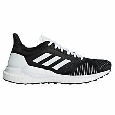 adidas Solar Glide ST Womens Running Trainer Shoe Black/White