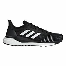 adidas Solar Glide ST Mens Structured Running Trainer Shoe Black/White