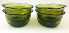 Pottery Barn Rope Green Clear Melamine Bowls Earth Green Set of 4 Set of 2 NWT