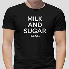 Milk And Sugar - Funny Brew, Tea, Coffee T Shirt - NEW & ALL SIZES