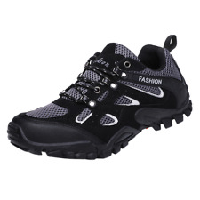Men's Outdoor Hiking Trail Trekking Sneakers Breathable Climbing Walking Shoes
