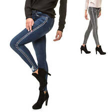 Hailys Damen Skinny Jeans Distressed Denim Damenhose Hose Jeanshose Slim Fit