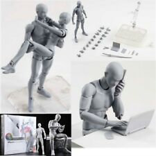 SHF S H Figuarts Male Girls Body Kun DX Set Gray Color Variable Figure Model New
