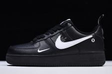 Nike Air Force 1 LV8 Utility GS Black / White / Yellow UK 3-6