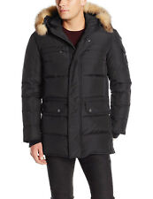 Pajar Canada Talon Mid Length Parka Fur Coat Black Men SZ M - 2XL Retail $795