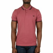 Fred Perry Twin Tipped Polo Shirt - Crushed Berry / Black