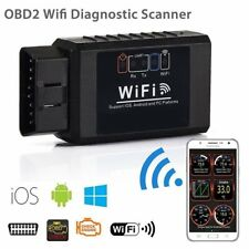 ELM327 WIFI OBD2 OBDII Auto Car Diagnostic Scanner Scan Tool for iOS Android Eo