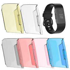 Protect Frame Cover For Fitbit Charge 3 Smart Watch Bracelet Replacement Sports