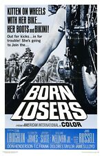Born Losers OLD MOVIE POSTER Canvas/ Photo/ Art Print
