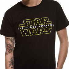 Star Wars VII - The Force Awakens Logo T Shirt - NEW & OFFICIAL
