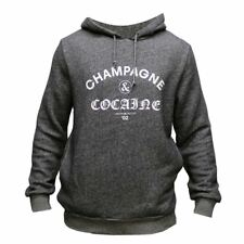 Crooks & Castles Champagne & Cocaine Pullover Hoodie Speckle Navy