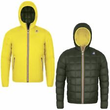 GIACCA UOMO K-WAY JACQUES THERMO PLUS DOUBLE YELLOW / GREEN 218