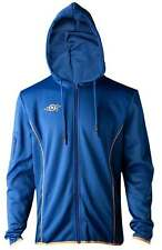 Fallout 76 Hoodie Vault 76 Logo TeQ new Official Xbox PS4 Gamer Mens Blue Zipped