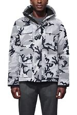 Men's Canada Goose Maitland Camouflage Down-Filled Tech-Piqué Parka NWT New