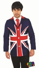 60'S Mod Jacket Men's Fancy Dress Costume