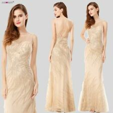 Sequins Beading Evening Dress Mermaid Long Formal Prom Party New Gown