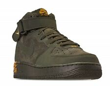 Nike Air Force 1 Unique mi '07 Sequoia-Yellow Ocre 315123 304 Tout Neuf Tailles
